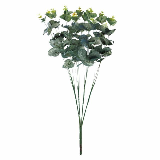 【6個から注文可能】人工観葉植物 フェイクグリーン 観葉植物 造花 ユーカリ 大 60cm インテリア おしゃれ フェイク グリーン CT触媒 消