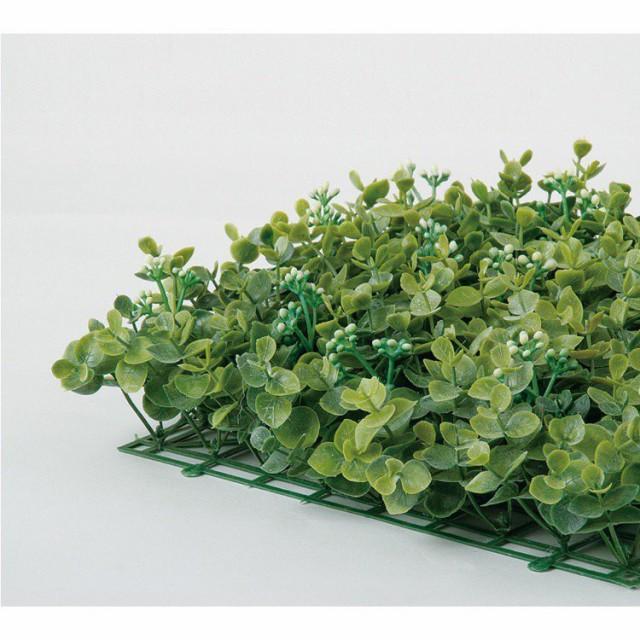 【フェイクグリーン】 ユーカリマット 25cm 【観葉植物 造花 人工観葉植物 光触媒 CT触媒 インテリア】
