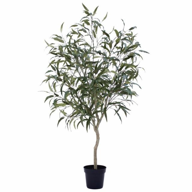 人工観葉植物 フェイクグリーン 観葉植物 造花 光触媒 大型 レモンユーカリポット 180cm フェイク グリーン インテリア おしゃれ CT触媒