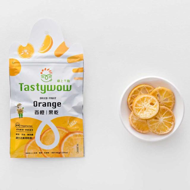 台湾産 オレンジ ドライフルーツ 【極上干脆】通販  台湾 お土産 お菓子