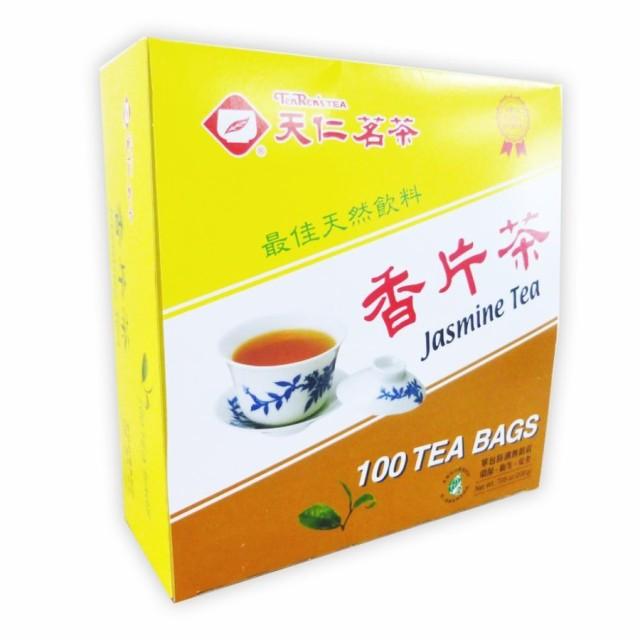 台湾 お土産 お茶 ティーバッグ  100個入り 箱 台湾茶   香片ジャスミンティー 天仁茗茶