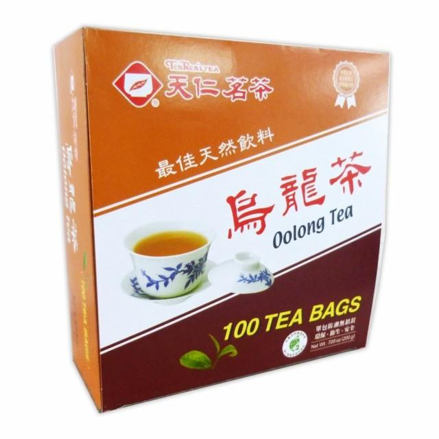 台湾 お土産 お茶 ティーバッグ  100個入り 箱 台湾茶   烏龍茶 天仁茗茶