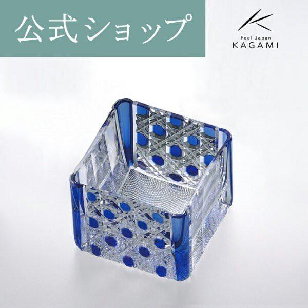 結婚祝い 江戸切子 御礼 お祝い 記念品 退職記念 父の日 還暦 ぐいのみ 日本酒 グラス 冷酒杯 升グラス ギフト プレゼント 贈答 カガミク