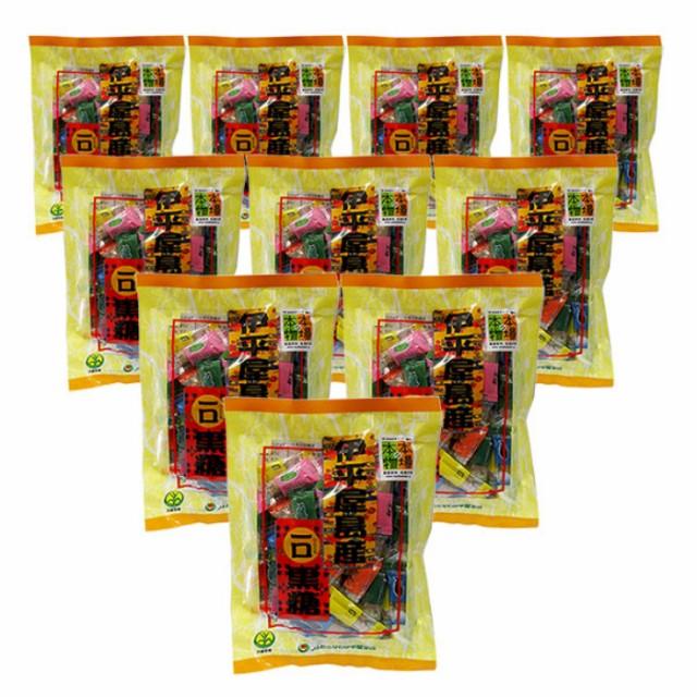 伊平屋島産一口黒糖(100g×10袋セット)全国送料無料