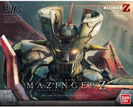 【2021年6月下旬入荷予約】1/144 HG マジンガーZ(マジンガーZ INFINITY Ver.) 「劇場版 マジンガーZ / INFINITY」