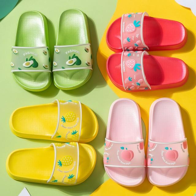 子供用スリッパ シャワーサンダル キッズ サンダル 子供靴 ジュニア ビーチサンダル シューズ 夏 アウトドア 散歩 ミッキーマウス サン