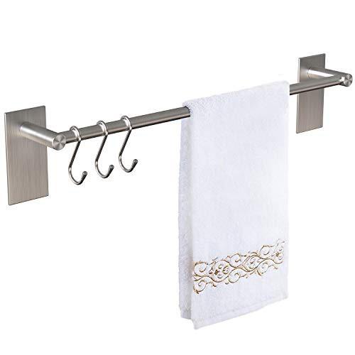 『全国送料無料』Vdomus タオル掛け 強力粘着 お風呂場 浴室 洗面所 キッチン用 40cm …