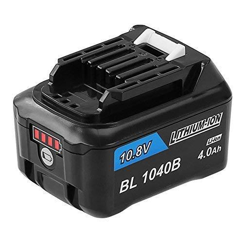 『全国送料無料』Enermall 互換 BL1040bマキタ 10.8v バッテリー互換 4000mAh LED残量表示付き リチウムイオン電池A-59863 CL106FD CL107