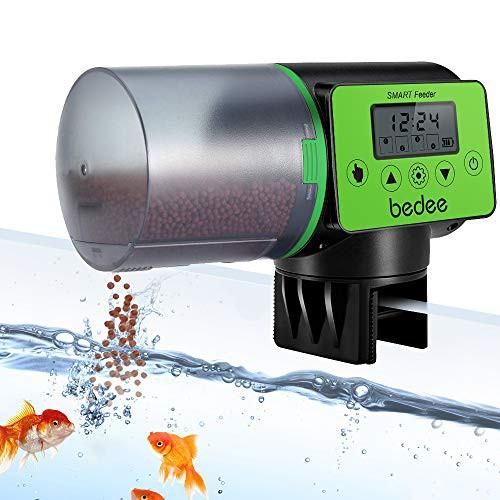 『全国送料無料』魚自動給餌器 餌やり器 タイムフィーダー 金魚オートフィーダー 水族水槽用 水槽セット 魚 自動餌やり機 多段階&多回転