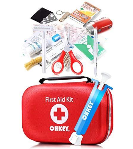 『全国送料無料』OHKEY 救急セット ポイズンリムーバー 救急箱 ファーストエイド キット 登山 アウトドア