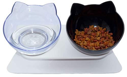 『全国送料無料』JOOKER 猫食器 ペット 猫 食器台 犬猫用 食器 スタンド 猫フードボウル 2個セット 猫が食べやすい高さと角度に設計