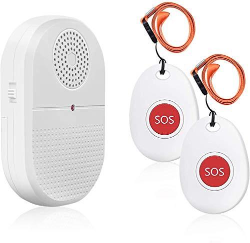 『全国送料無料』Daytech 【第二代】呼び出しベル 介護 無線 ナースコール 振動 警報システム コールボタン 高齢者/患者/障碍者/妊婦 個