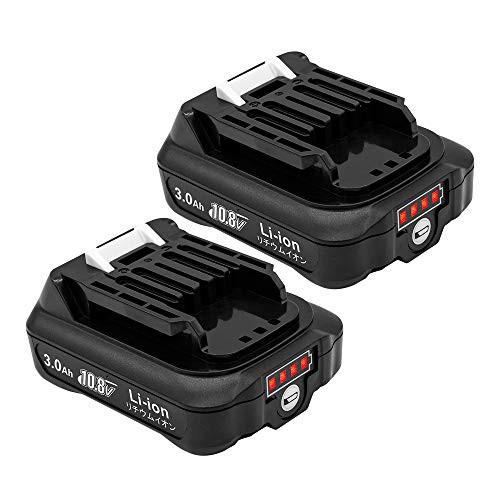 『全国送料無料』マキタ BL1015B 互換バッテリー 10.8V 3000mAh マキタ 残量表示 互換 bl1050 bl1060b bl1040b交換対応 リチウムイオン電