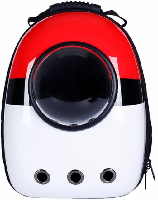 送料無料!ペット バッグ ペット用キャリーバッグ 宇宙船カプセル型ペットバッグ 犬猫兼用 ペットバッグ ネコ ニャンコ 犬 ペット用品 リ