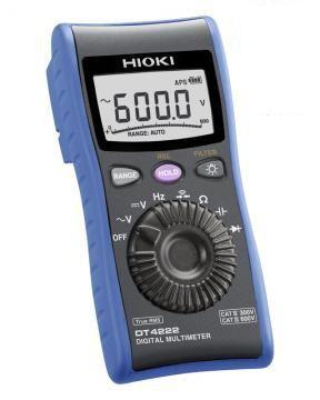 HIOKI(日置電機) デジタルマルチメータ DT4222