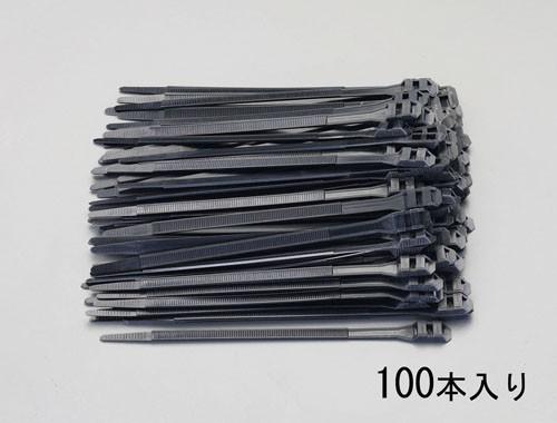 エスコ(ESCO) 610x9.0mm 結束バンド(ダブルロッキング/100本) EA475AW-610