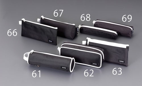 エスコ(ESCO) 70x205x60mm 小物袋(マチ付) EA509AD-67