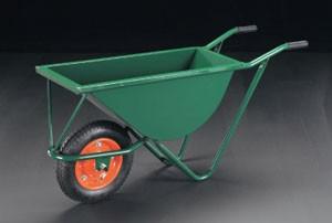 【直送】【代引不可】エスコ(ESCO) 1170x380x545mm/100kg 一輪車 EA520DB