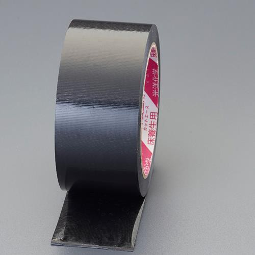 エスコ(ESCO) 50mmx25m 養生テープ(つや有/黒/日焼防止) EA944ML-85