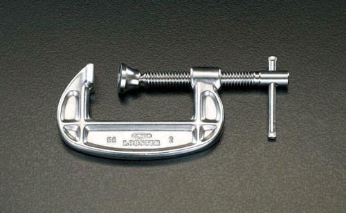 エスコ(ESCO) 0-78mm/46mm シャコ万力(ステンレス製) EA526SK-75