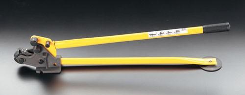 エスコ(ESCO) 13mm/1070mm 鉄筋カッター&ベンダー EA545BM-2