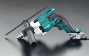 エスコ(ESCO) 10mm/390W 振動ドリル(正逆転/無段変速) EA801DA-2