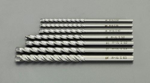エスコ(ESCO) 3.4-8.5mm 7本組コンクリート用振動ドリル EA811AA