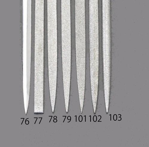 エスコ(ESCO) 140mm/#100 ダイヤモンドニードル鑢(菱形) EA826VJ-102