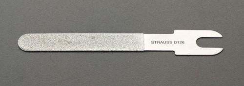 エスコ(ESCO) 100x10x0.3mm#200 ダイヤモンド鑢(平面用/薄刃) EA826VL-1