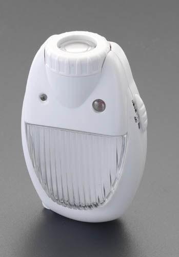 エスコ(ESCO) AC100V/3.5WLEDセンサーライト EA864CB-15