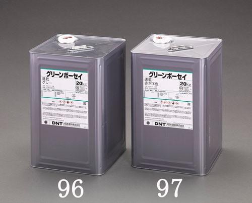 エスコ(ESCO) 20kg [油性]環境対応型錆止め塗料(赤) EA942ED-97