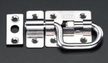 エスコ(ESCO) 50x53mm P型ラッチ(ステンレス製) EA951B-14