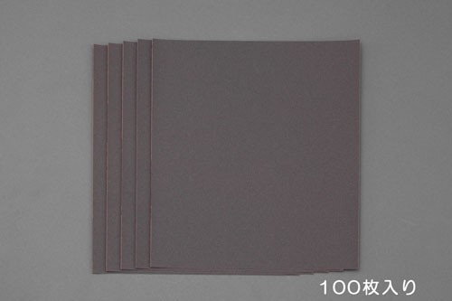 エスコ(ESCO) #800 耐水ペーパー(100枚) EA366MH-80