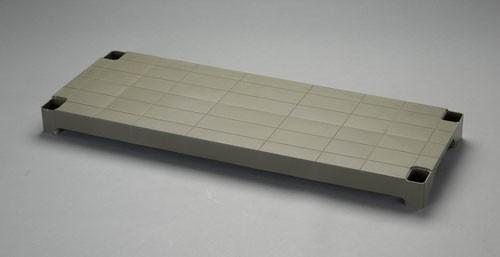 エスコ(ESCO) 1200x450x87mm ラック棚板のみ(OD色/PP製) EA976AL-30