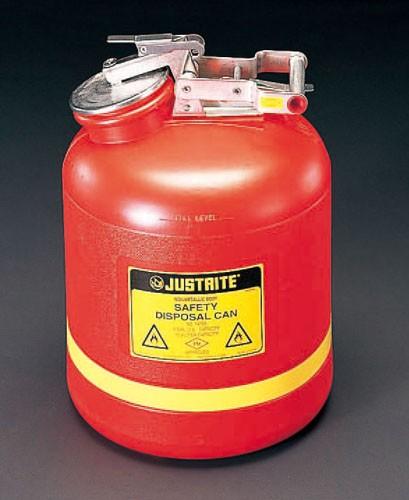 エスコ(ESCO) 19.0L/5ガロン 廃 油 缶 EA991JF-5