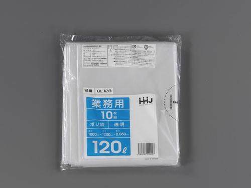 エスコ(ESCO) 1000x1200x0.06mm/120L ごみ袋 (10枚) EA995AD-121