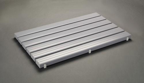 エスコ(ESCO) 600x956mm すのこ(PVC/グレー) EA997RJ-86