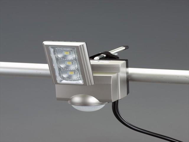 エスコ(ESCO) AC100V/11W LEDセンサーライト(1灯) EA864CB-161A