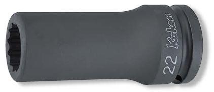 Ko-ken(コーケン) 19.0sq. インパクト 12角 大型車用ヘッドボルト/フライホイール用ソケット 16305M-22