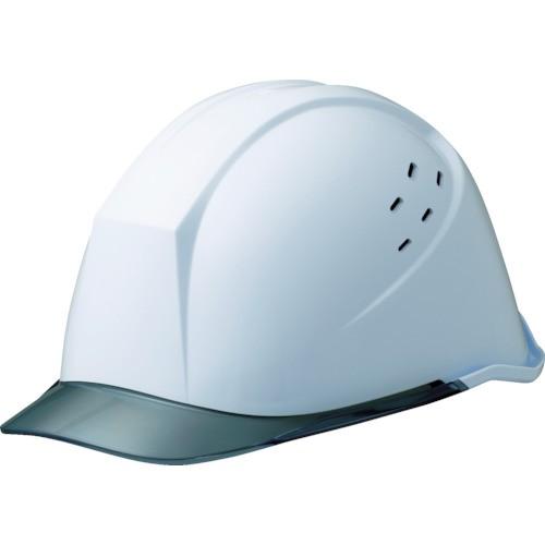 ミドリ安全 女性用ヘルメット 通気孔付・αライナー搭載 ホワイト/スモーク LSC-11PCLV-ALPHA-W/S
