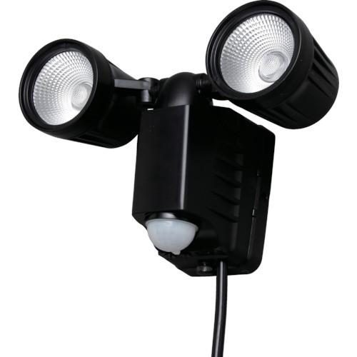 IRIS(アイリスオーヤマ) AC式LED防犯センサーライト 1500lm 2灯 LSL-ACTN-800D