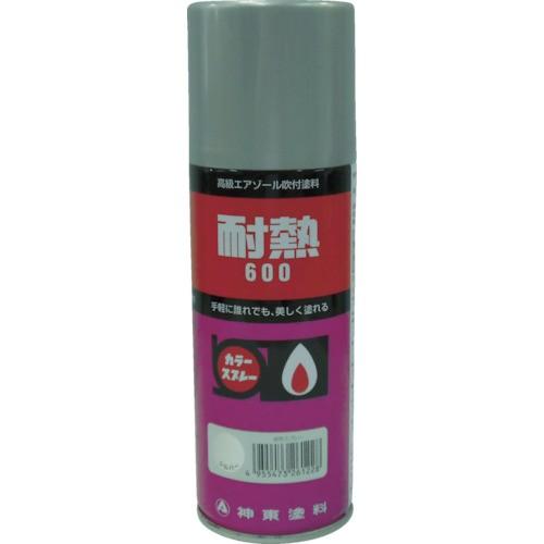 シントーファミリー 耐熱用スプレー 黒 300ml 2621-0.3