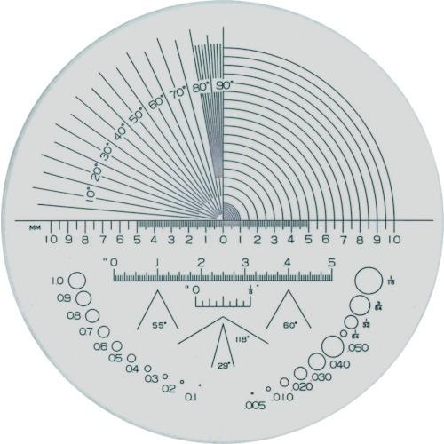 リーフ(京葉光器) ガラススケール S-202