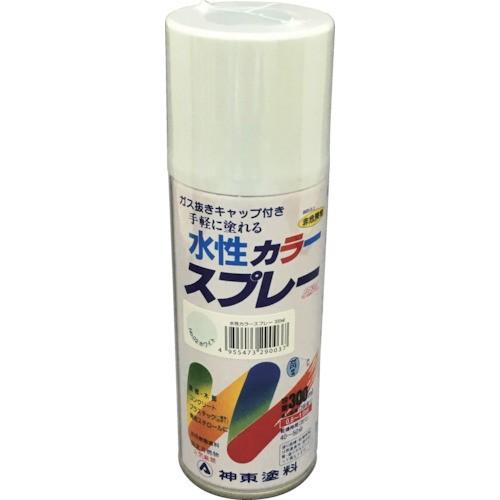 シントーファミリー 水性カラースプレー ホワイト 300ml 2903-0.3