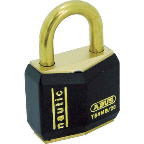 ABUS(アバス) シリンダ南京錠 真鍮樹脂カバー 20mm 同番 T84MB-20-KA