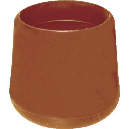 TRUSCO(トラスコ) イス脚キャップ 15.8mm 白 4個組 TRRCC158-WH
