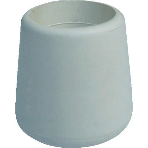 TRUSCO(トラスコ) イス脚キャップ 25.4mm 白 4個組 TRRCC254-WH