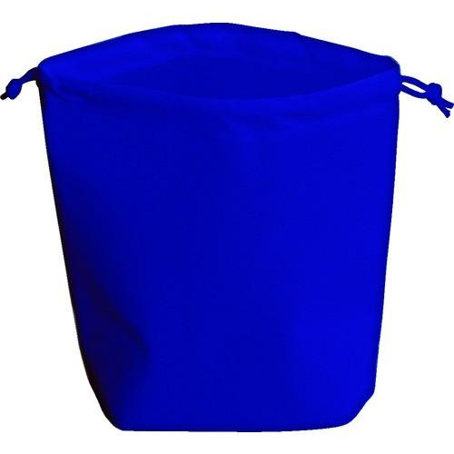 TRUSCO(トラスコ) 不織布巾着袋 A4サイズ マチあり ネイビー 10枚入 1袋 HSA4-10-NV