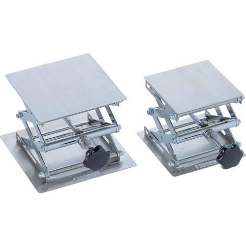テラオカ ラボジャッキ ノブハンドル式ステンレスタイプ 200X200X80〜300 99-1620-22