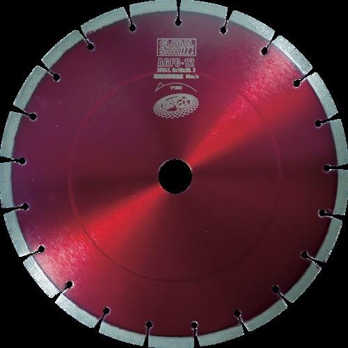 モトユキ ダイヤモンドカッター グローバルソー コンクリート用 φ305 AGFC-12